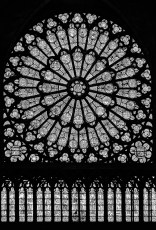 Rose Window - Apparently survived fire