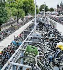 Bicycle Parking in Amsterdam