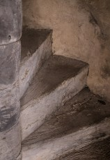 Mission San José - Stairs to Bell Tower