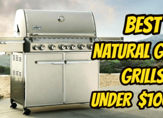 Best Natural Gas Grill under $1000