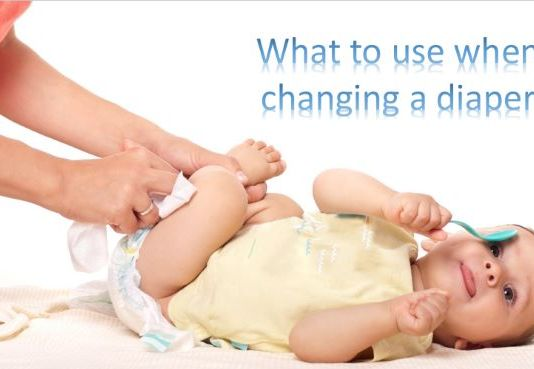 what to use when changing a diaper
