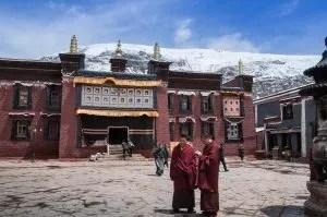 Sakya monastery in Tibet