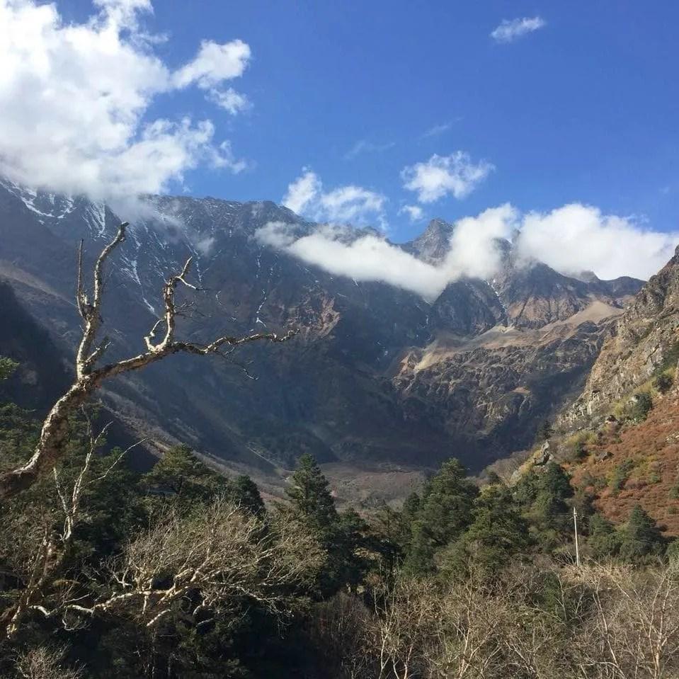 On the way to Kyirong Tibet Nepal border