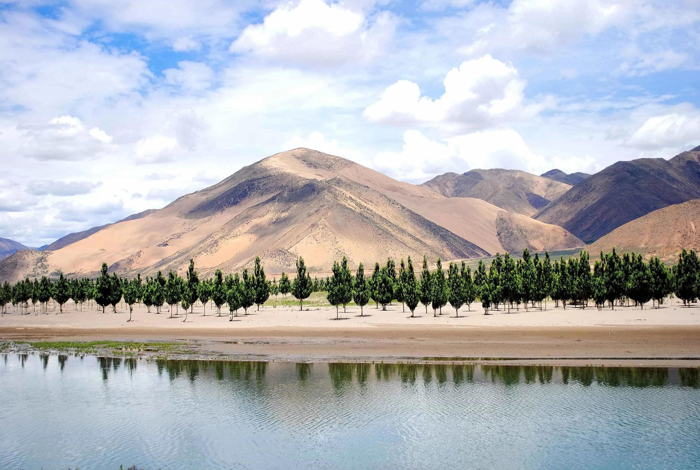 Brahmaputra River in Tibet