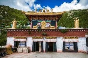 Chimpu Nunnery and meditation caves