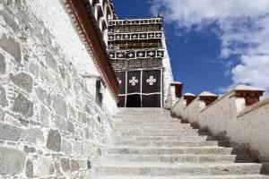 Entrance to the Potala Palace