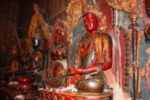 Inside of the Gyantse monastery