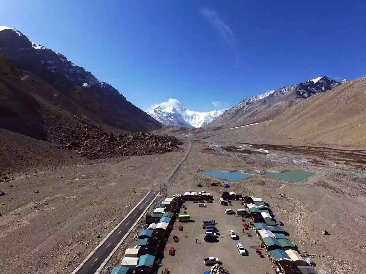 Everest Base Camp in Tibet