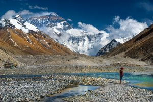 Everest North Face from Tibet