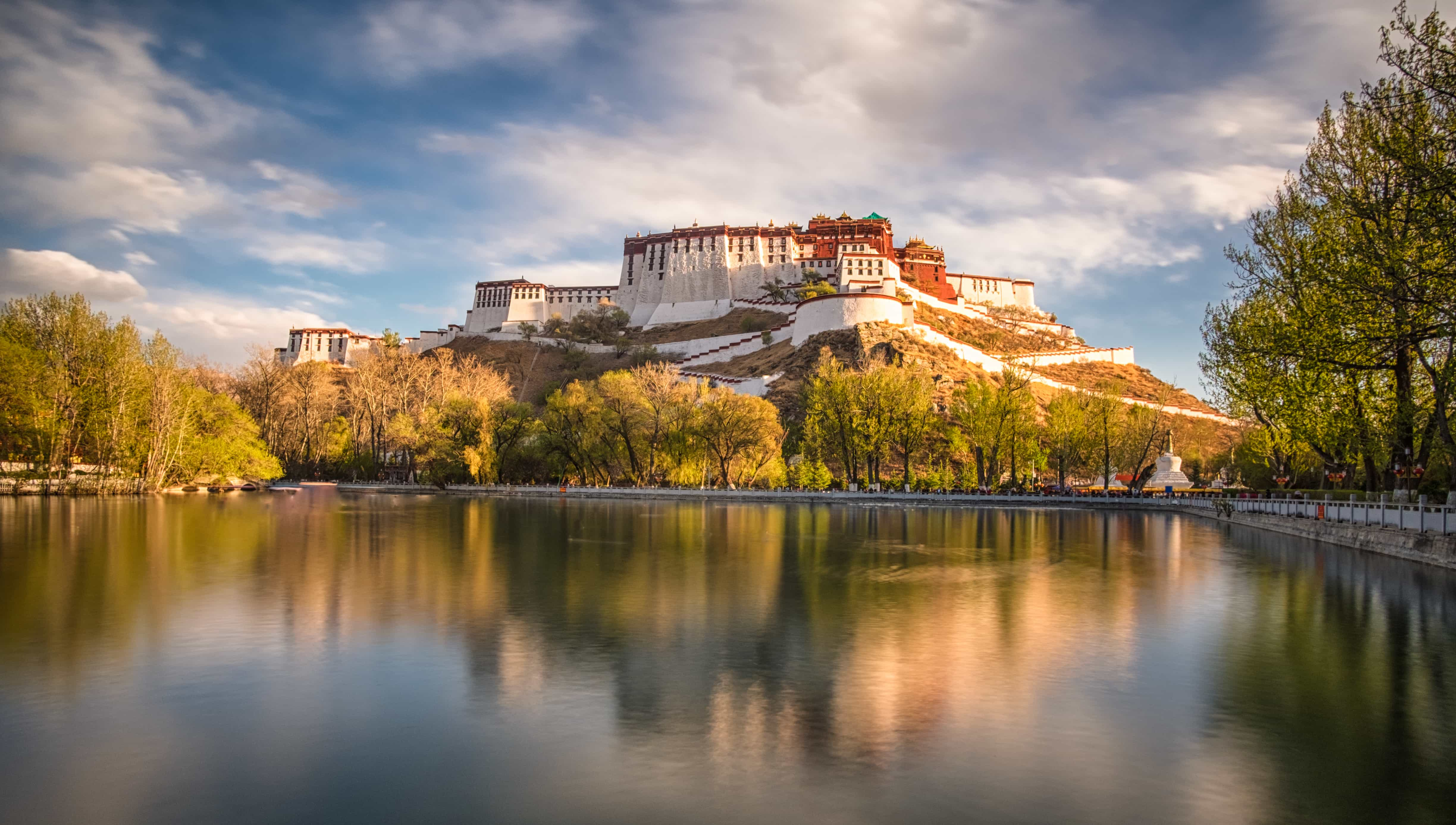 Potala Palace in the fall