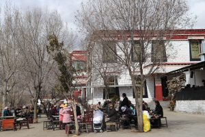 Tea house in Sera monastery