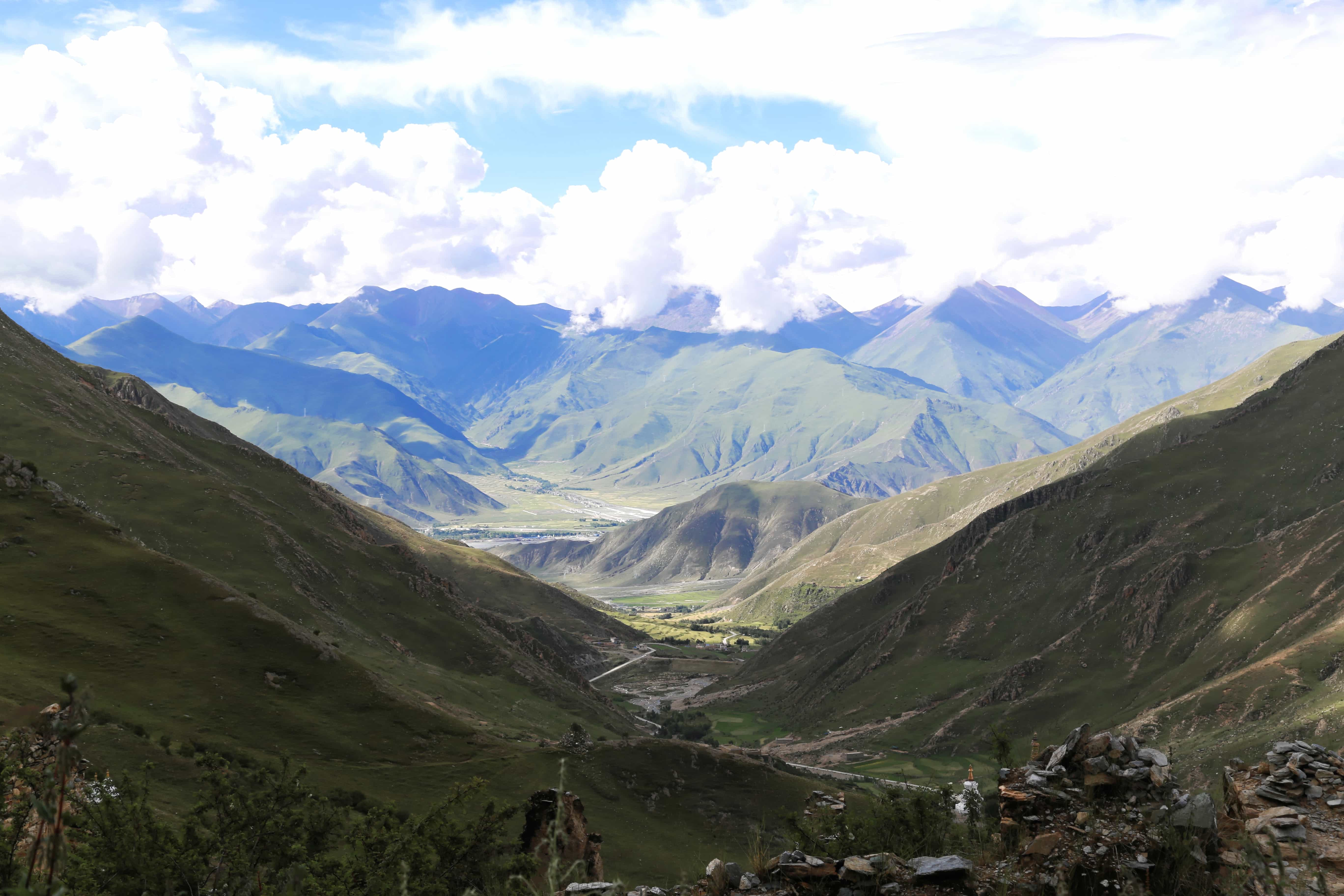 View on the valley from Drak Yerpa