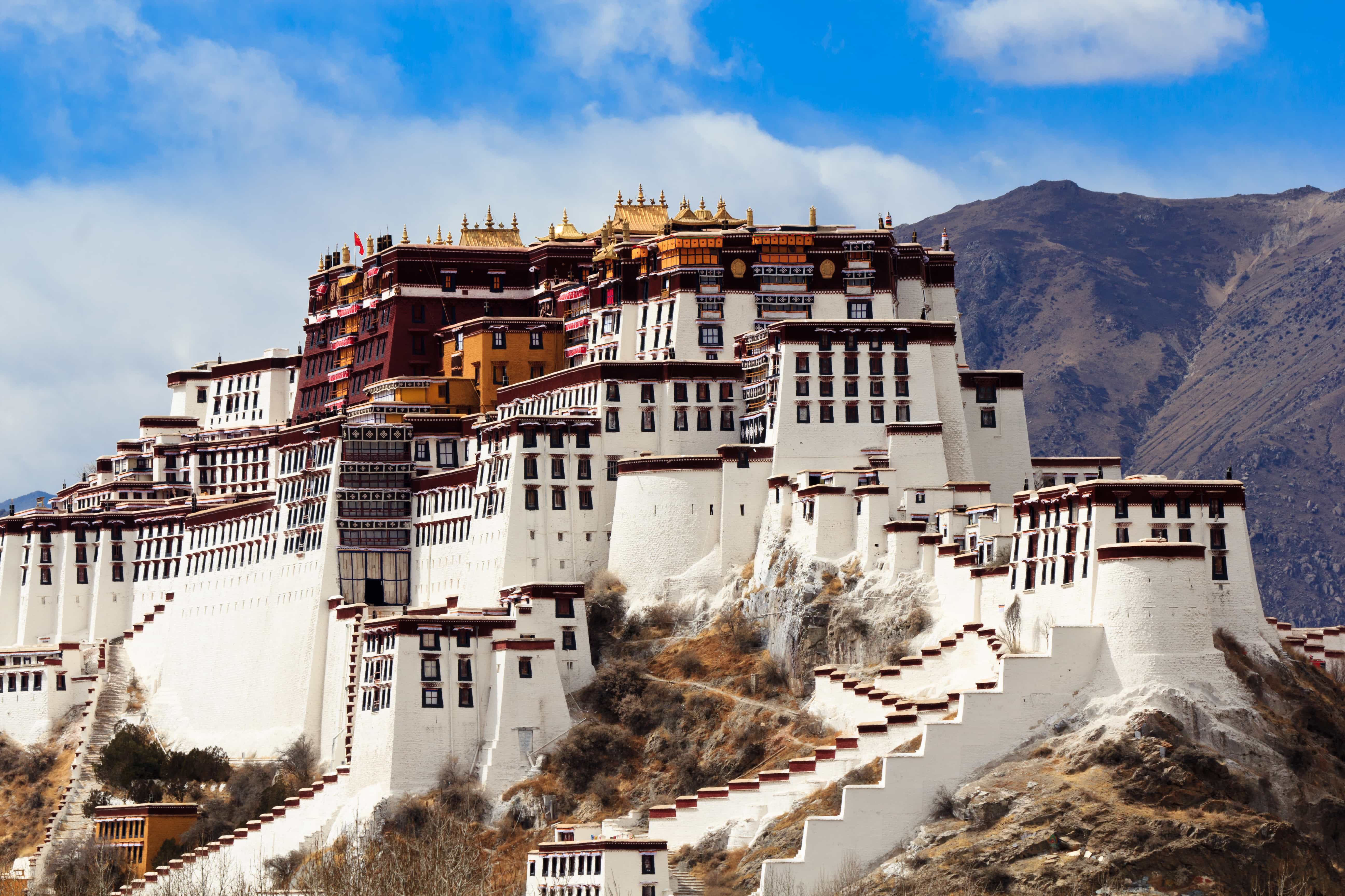 UNESCO World Heritage site Potala Palace in Lhasa