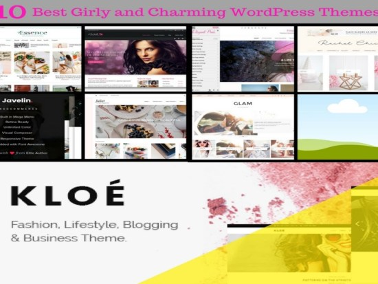 10 Best Girly and Charming WordPress Themes