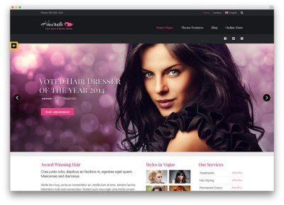 Parlour WordPress theme