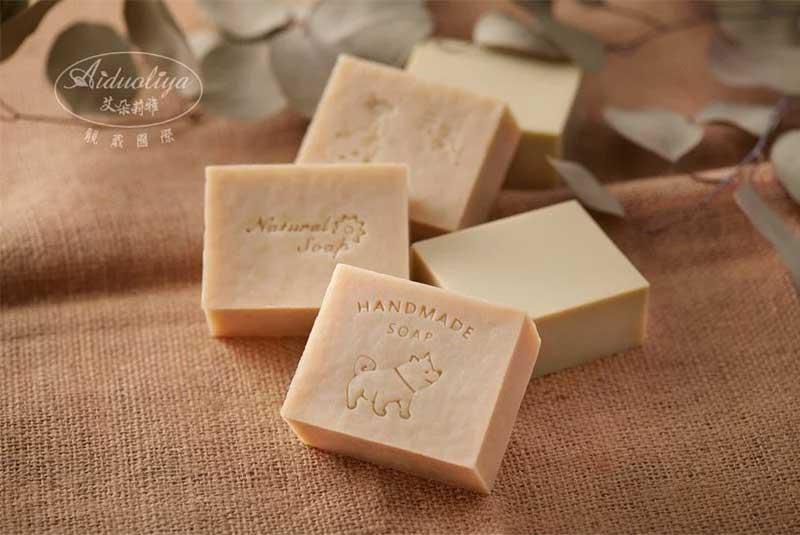 蜂蜜羊乳植萃馬賽保濕手工皂