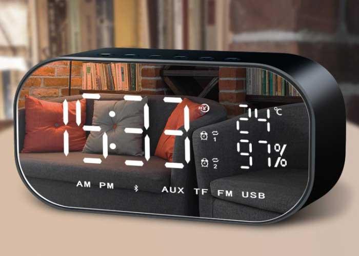 V5 無線藍牙多功能時鐘音箱
