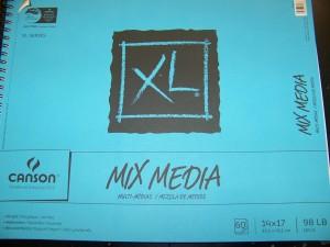 Canson's Mixed Media Paper 98 lb.