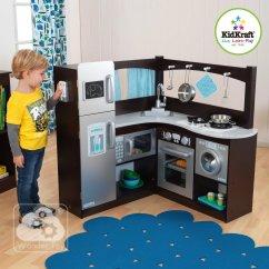 Kidkraft Navy Vintage Kitchen 53296 Cabinets Uptown Espresso Play