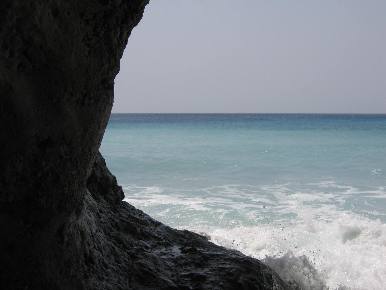 Waves, sea, rock