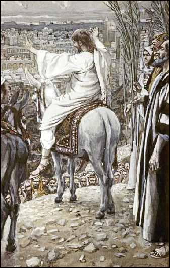 Jesus Beheld the City and Wept over It