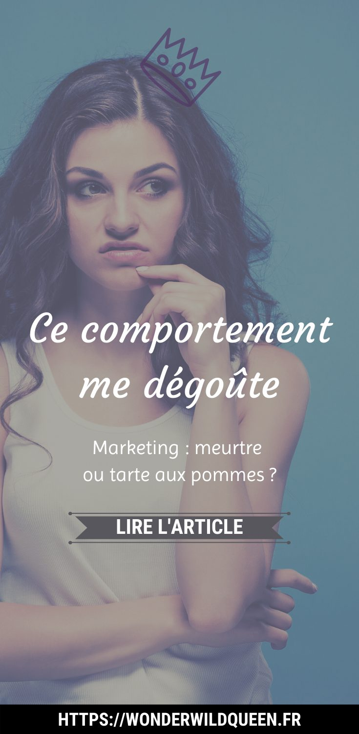 Ce comportement me donne la gerbe #marketing #éthique #manipulation