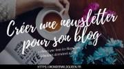 Créer une Newsletter pour son blog 💌 : Ce qu'il faut savoir 😮