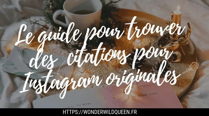 Comment utiliser et trouver des citations Instagram originales