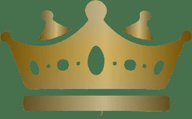 couronne dorée