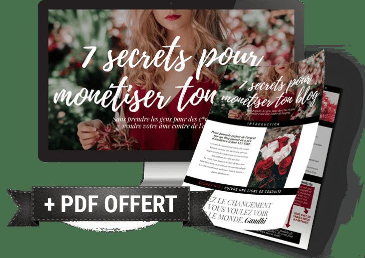 7 secrets pour monétiser son blog
