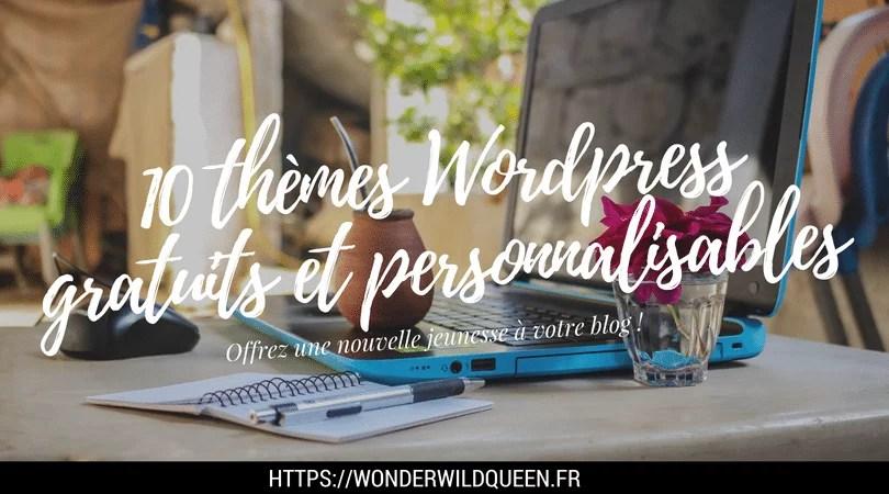 theme wordpress gratuit et personnalisable