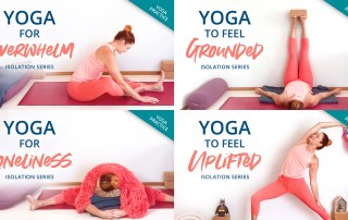 Yoga for overwhelm and more