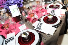 Dinner at the Met Gala 2013