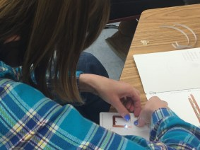 Ms. Evje is learning about paper circuits to incorporate into her Special Day class
