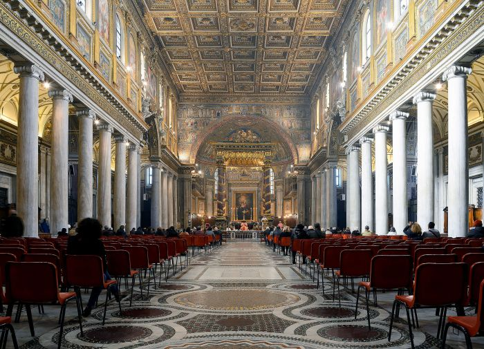 How to see the sights of Rome for free: Basilica di Santa Maria Maggiore is always free.