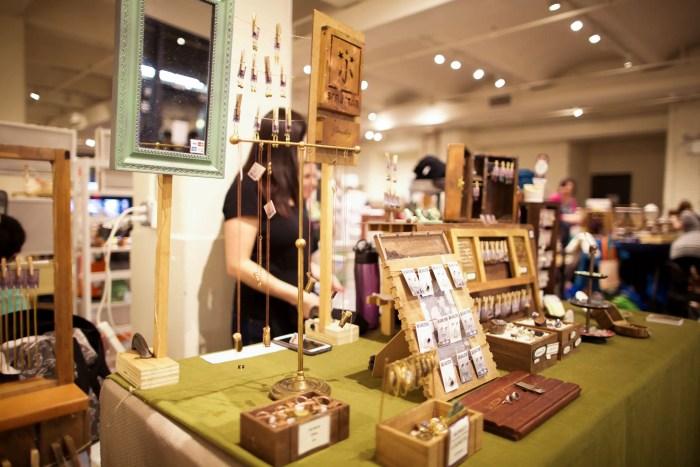 Etsy Handmade Cavalcade at Chelsea Market | NYC Holiday Pop-up Shops
