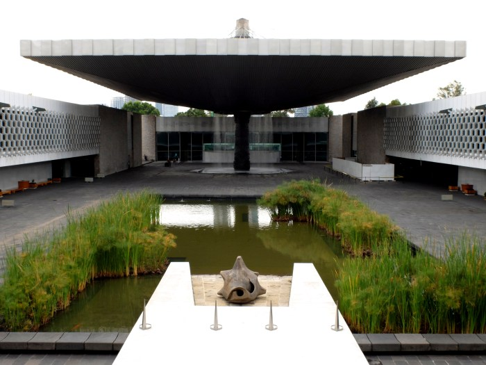 The National Anthropology Museum in Mexico City