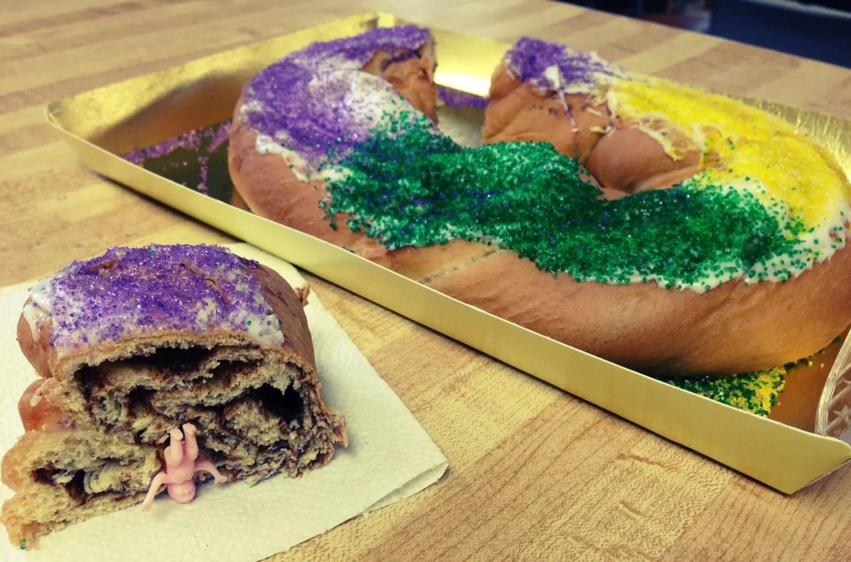 New Orleans King Cake
