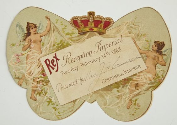 Costume de Rigueur Invitation