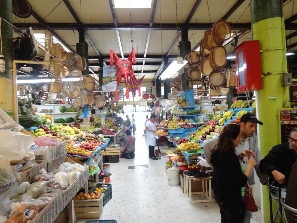 Mercado San Juan en Ciudad de Mexico (Mexico City)