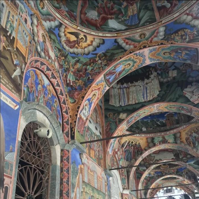 Rila Monastery Frescos