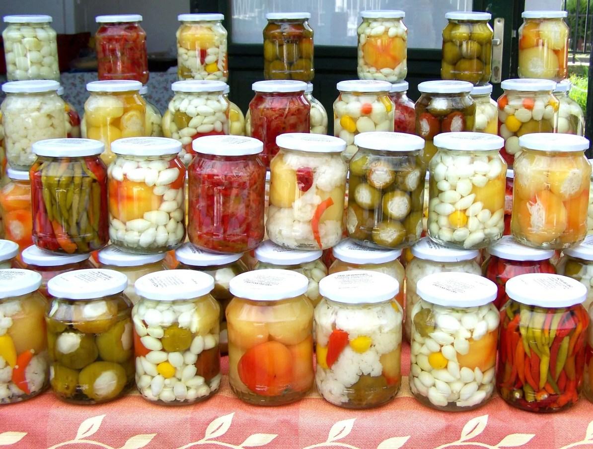 Turşu homemade Turkish Pickles