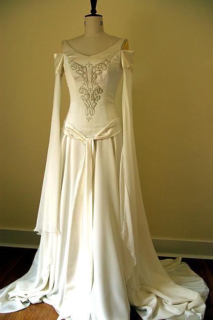 Celtic Wedding Dresses  The Wondrous Pics