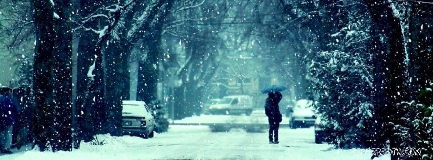 Falling Snow Wallpaper Software Winter Facebook Cover 13 9972 The Wondrous Pics