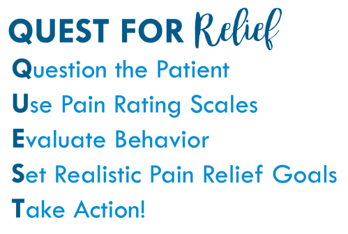 small resolution of pain relief goals