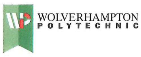 Wolverhampton Polytechnic - also known as the 'batman' logo