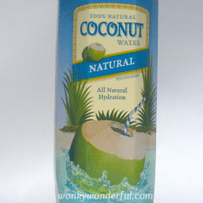 photo of coconut water package
