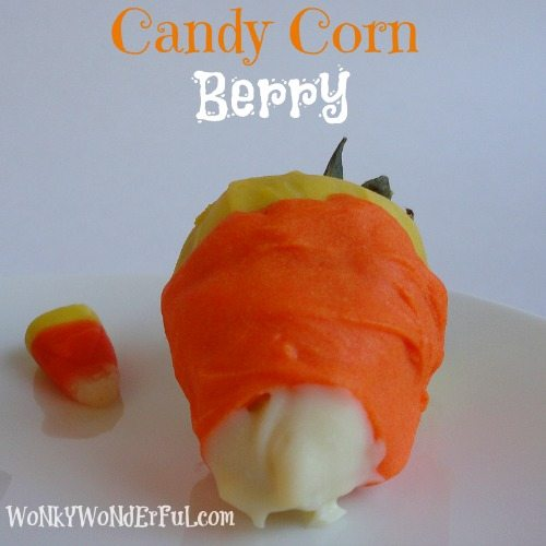 Candy Corn Berries