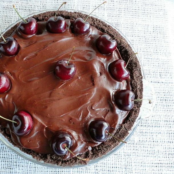 Black Forest Cream Pie | 26 Homemade Pie Recipes for Thanksgiving