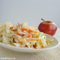 Apple and Cabbage Coleslaw